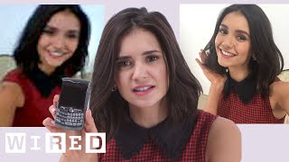 Nina Dobrev Takes Selfies With Phones From 2003 to 2014 | WIRED