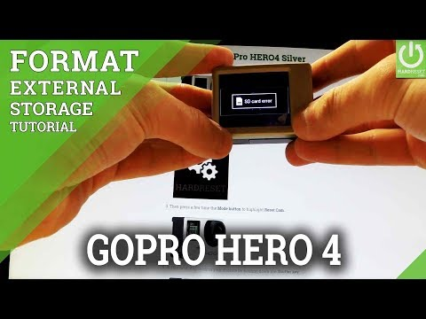 How to Format MicroSD Card in GoPro HERO 4 Silver