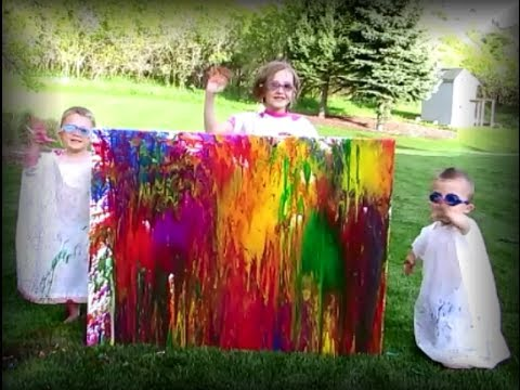 HOW TO do Water Balloon Painting