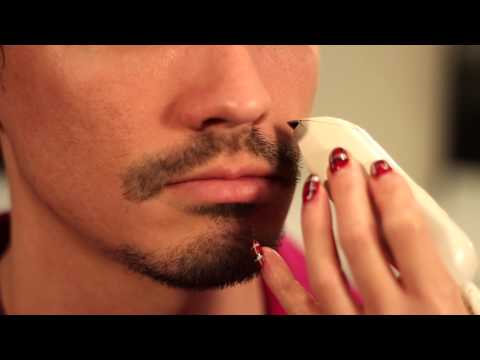 How to Shave Around a Mustache & Goatee : Men's Grooming Tips