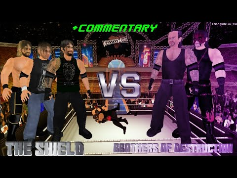 Brothers of Destruction vs The Shield at WrestleMania 33