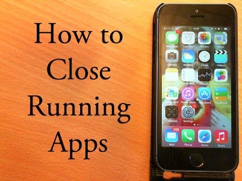 How to Close Background Apps in iOS 7 2014