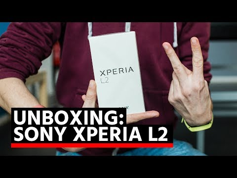 Unboxing: Sony Xperia L2