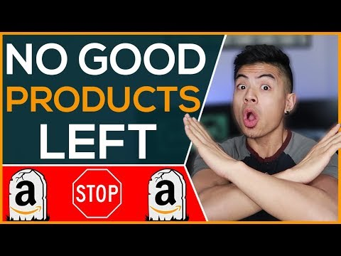 Why YOU CAN'T Find An Amazon FBA Product... None Left?
