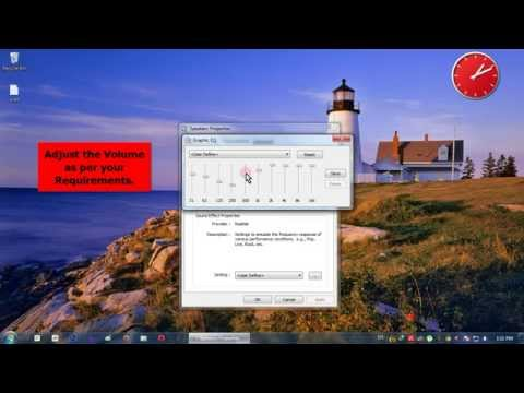 Increase Volume of Windows 7 by 200%