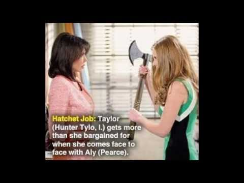 B&B ALY CONFRONTS TAYLOR SPOILERS & PHOTOS Bold Beautiful Hunter Tylo Thorne Darla Promo 5-5-14