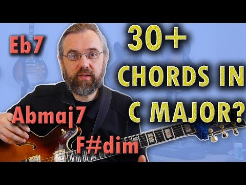 30+ Chords in C major? 🤔 -  Boost your chord progressions and jazz harmony