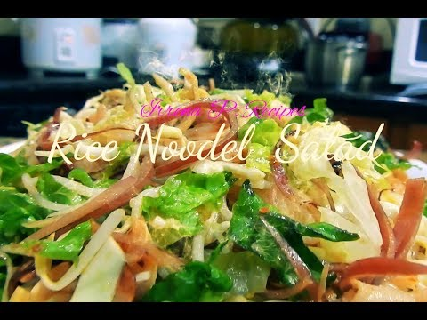Rice Noodle Salad/Khao Poon Xamlav