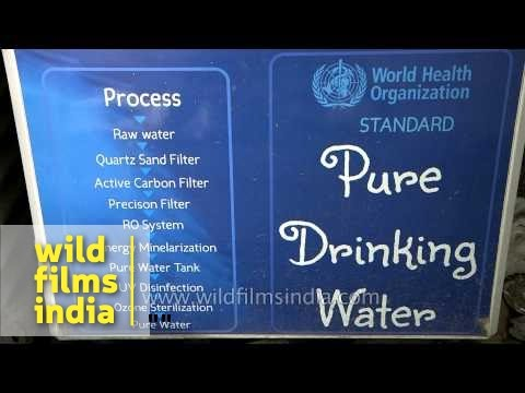 Swajal water vending machines: pure drinking water
