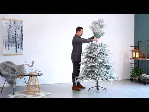 How to assemble the Frosted Vermont artificial tree
