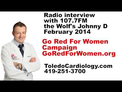 The Wolf: Johnny D and Dr. Alo Discusse Heart Disease in Women