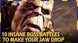 10 insane boss battles that will make your jaw drop