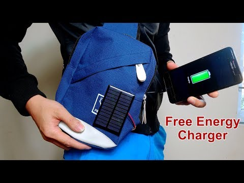 How to make a Solar Charger Bag for mobile