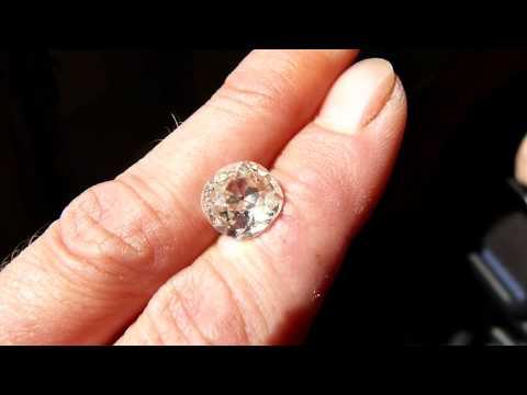 Loose 3.36 carat old cut diamond - www.fineantiquediamonds.co.uk