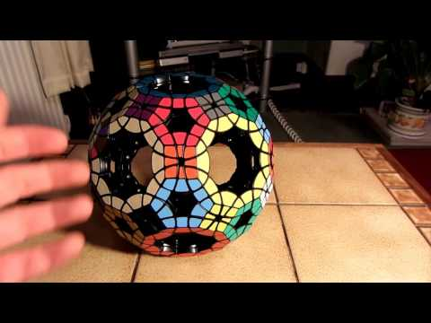 How I lubed my Void Truncated Icosidodecahedron (For Twisty Puzzling)