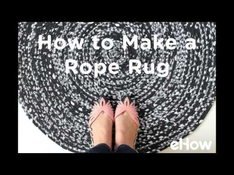 How to Twist Fabric to Make a Rope Rug