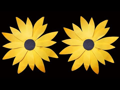 How to Make Easy Paper Sunflower