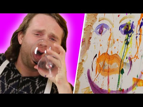 Tipsy Best Friends Paint Portraits of Each Other