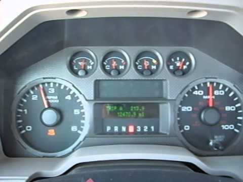 99 Ford F-250 Transmission shift points Tachometer and Odometer