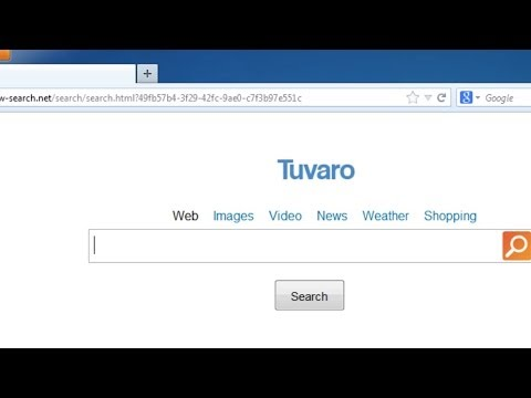 How to get rid of tuvaro search virus (Manual removal guide)