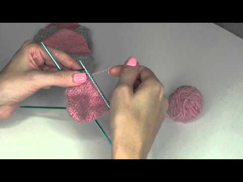 How to Knit Toe Up Socks Girly Knits Knitting Tutorial