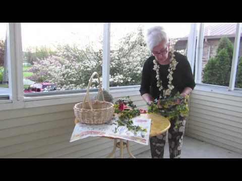How to Make Garlands & Hawaiian Lei's from Fresh Flowers