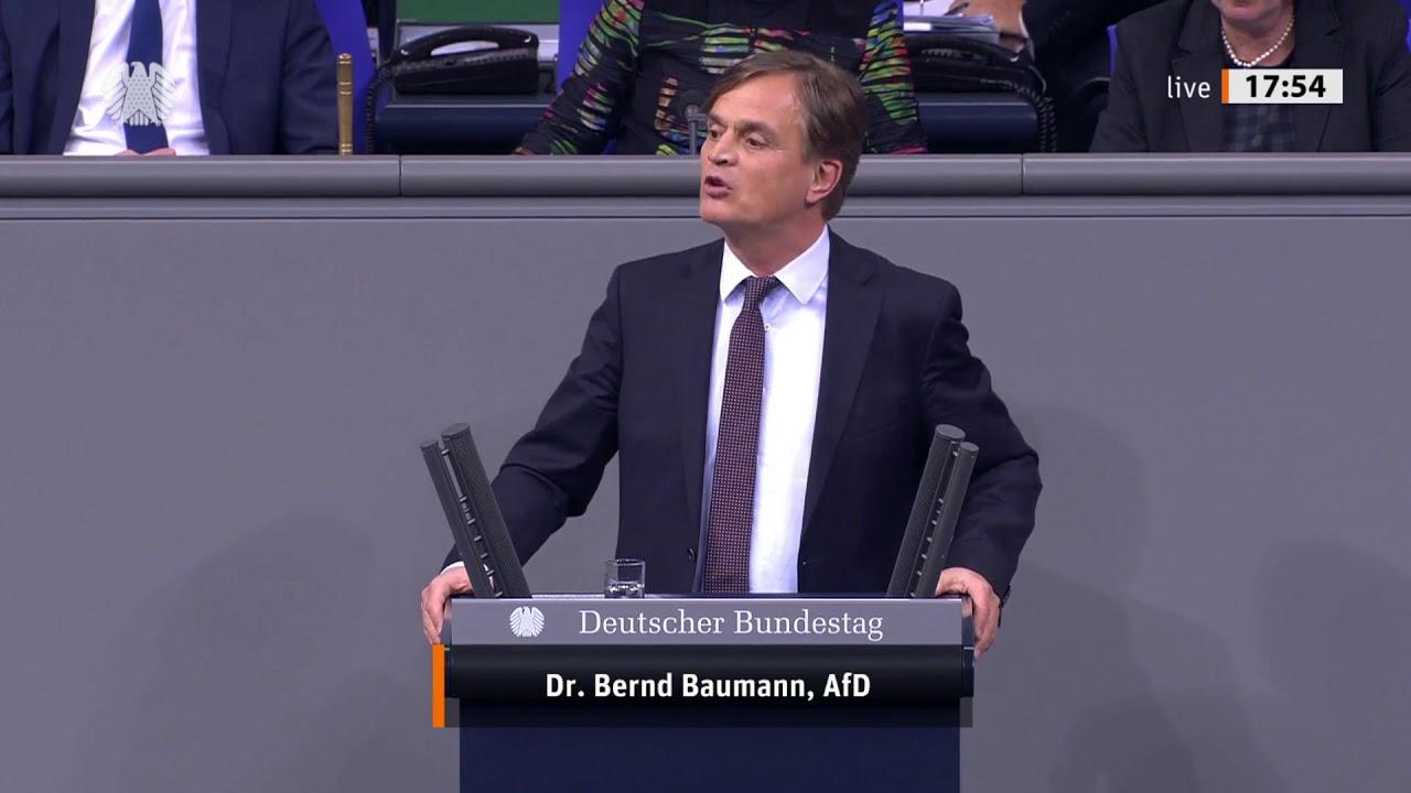 Explosive Rede von Bernd Baumann zu Araber-Clans - Seehofer sprachlos