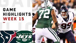 Texans vs. Jets Week 15 Highlights | NFL 2018