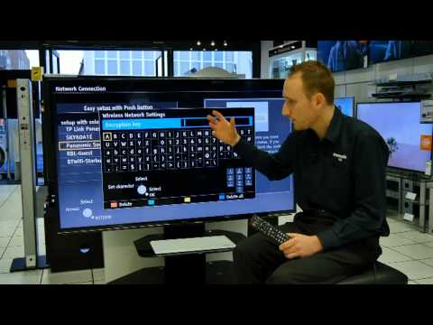 Panasonic Viera Wi Fi Setup Tutorial