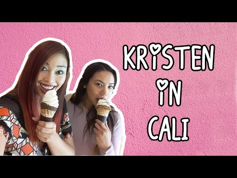 Kristen in California Travel Vlog || KBBQ & more! Hanging out with Anabelle!