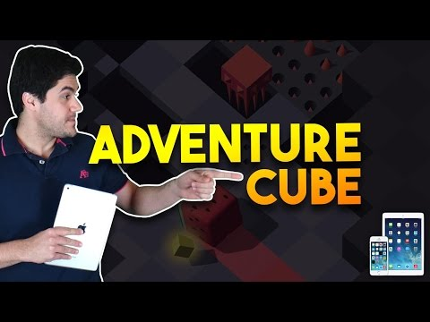 Mitei no Adventure Cube (gameplay / PT-BR / iPhone iPad)