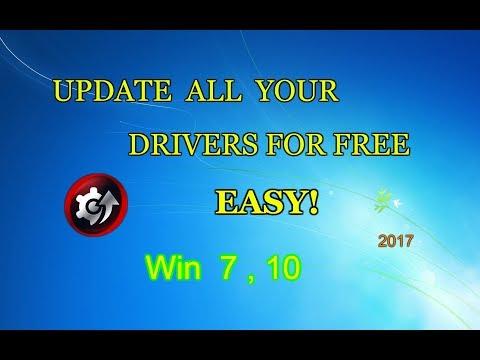How to update all your PC drivers for free 2017 (no voice)