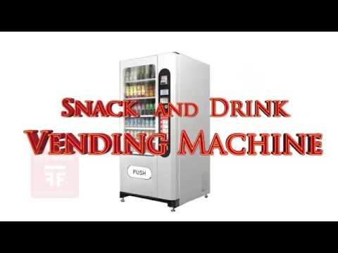 Snack and Drink Vending Machine (Fun Food Thailand)