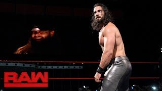Seth Rollins vs. Curt Hawkins: Raw, June 26, 2017