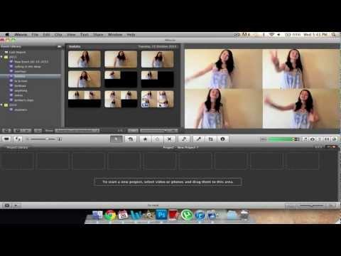4 Boxes on iMovie 09/11.