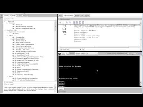 Boson NetSim ICND1 Lab 2 Router Basics I