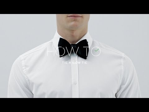 How To Tie A Bow Tie   MR PORTER