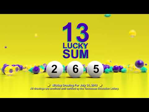 Tennessee Lottery Midday_C3_C4_LS 07/31/2018