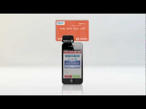 Payfirma's iPhone Mobile Payment App