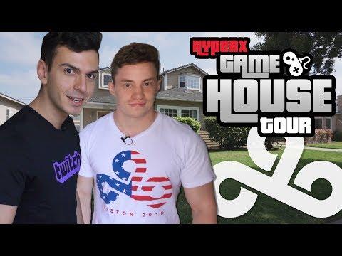 Cloud9 CS:GO HyperX Gaming House Tour 2018