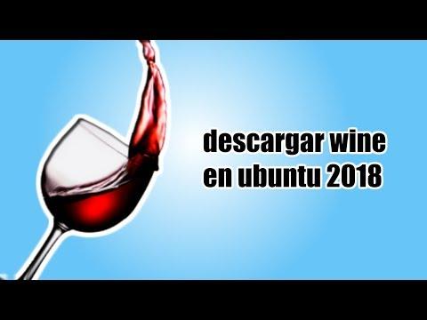 Como descargar wine para ubunu por terminal