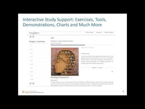 University of Texas at Austin Online Paralegal Certificate Program Information Sess
