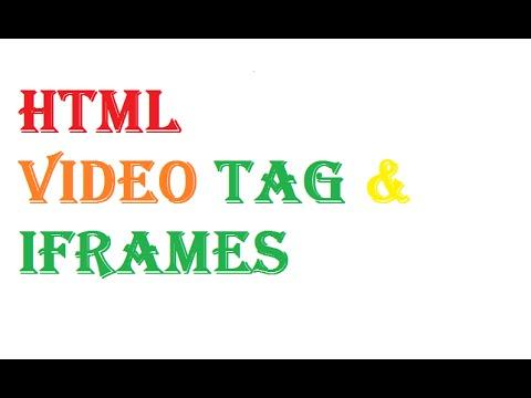 HTML Video & HTML iframe Example and Tutorial 2017 [HINDI] Mujahid khan