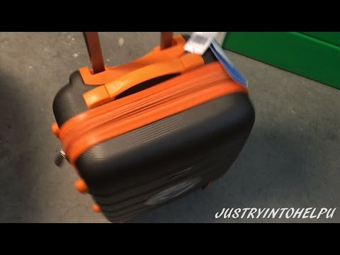 Rockland Melbourne 20-Inch Abs Carry On Luggage Review - Best Travel Suitcase - WATCH BEFORE YOU BUY