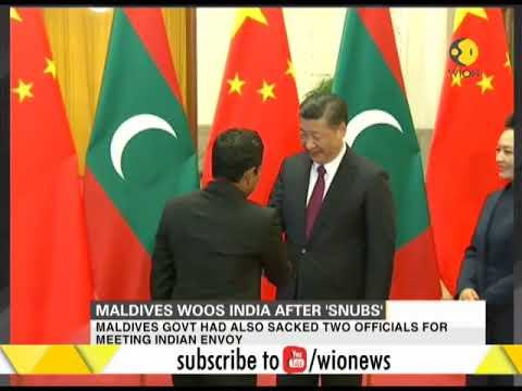 Maldives woos India after 'Snubs'