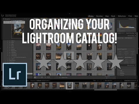 How to Use the Rating System in Lightroom! (Adobe Lightroom CC Tutorial)
