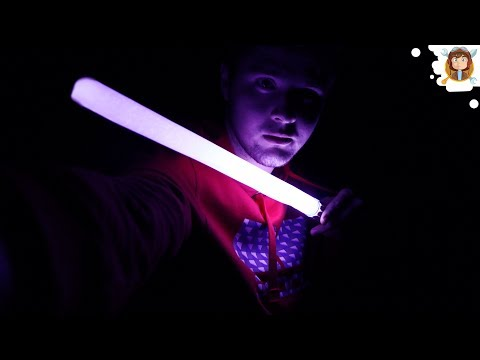 How to Make a Lightsaber - (Easy Way)