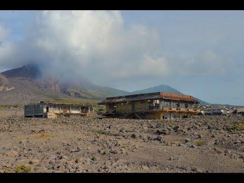 Montserrat, Hurricane Maria and Volcanic activity of Soufrière Hills volcano, British West Indies