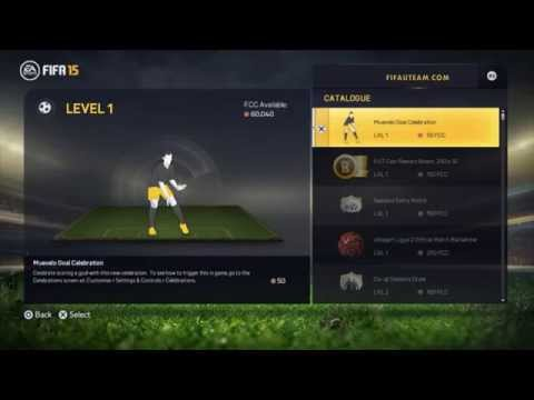 All EAS FC Catalogue Items for FIFA 15