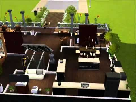 my sims 3 gothic house   YouTube